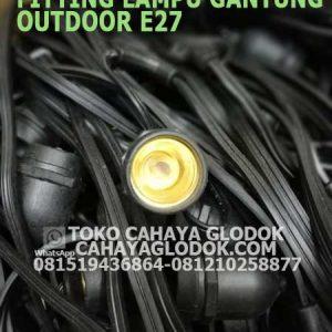 Jual Fitting Lampu Gantung Outdoor E27 Cahayaglodok Com