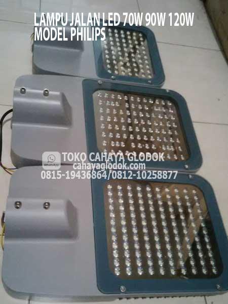 Jual Lampu Jalan 90 Watt Led Model Philips Brp371 Cahayaglodok Com